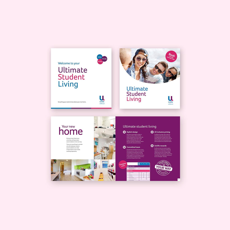 Unilife brochure design