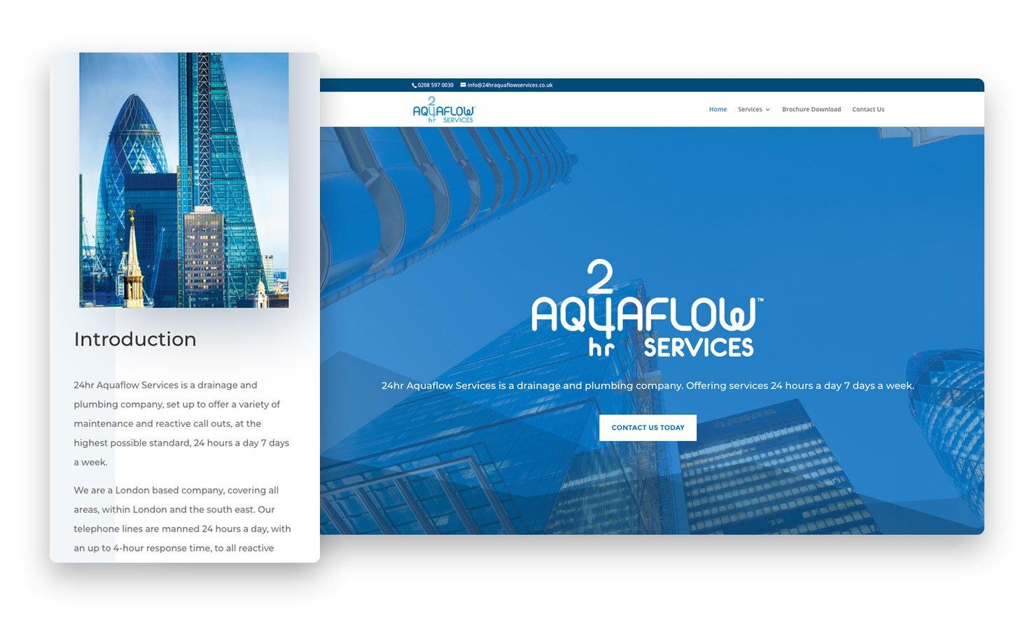 24 hour Aquaflow services