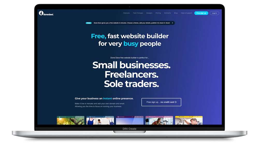 Done Dave Website Design