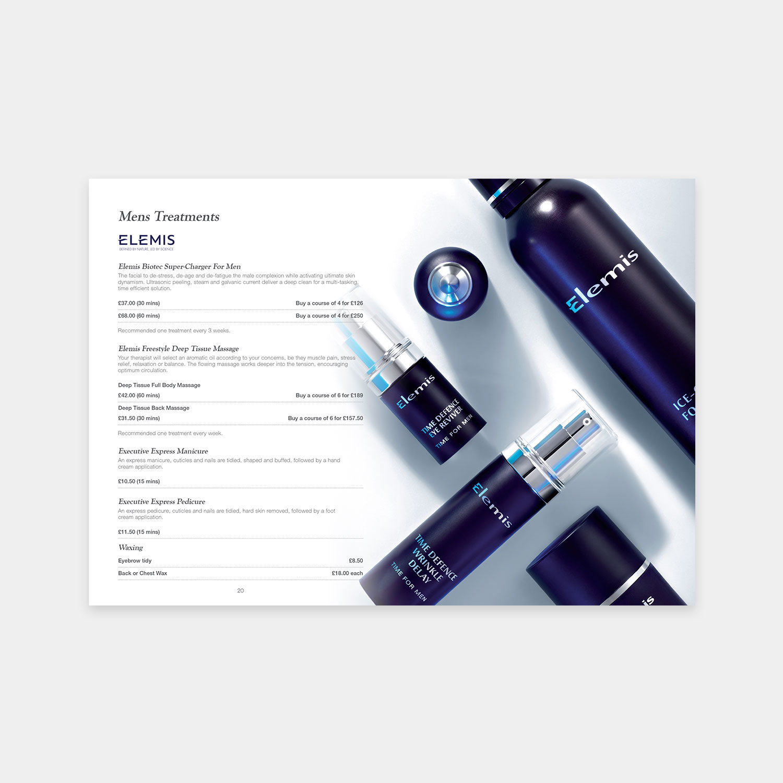 Grapevine Hair, beauty & health price list design