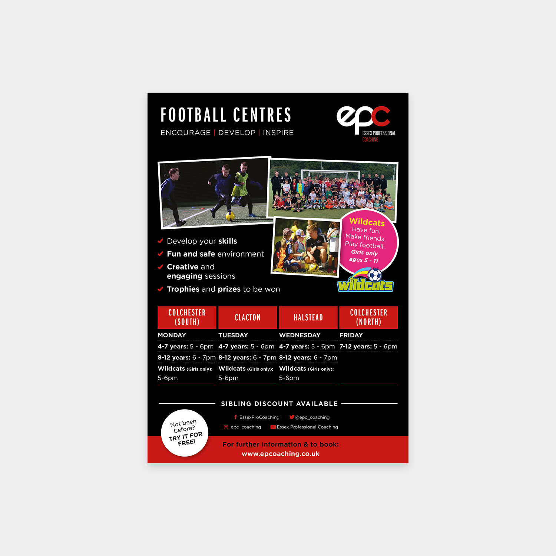 Essex Professional Coaching flyer design